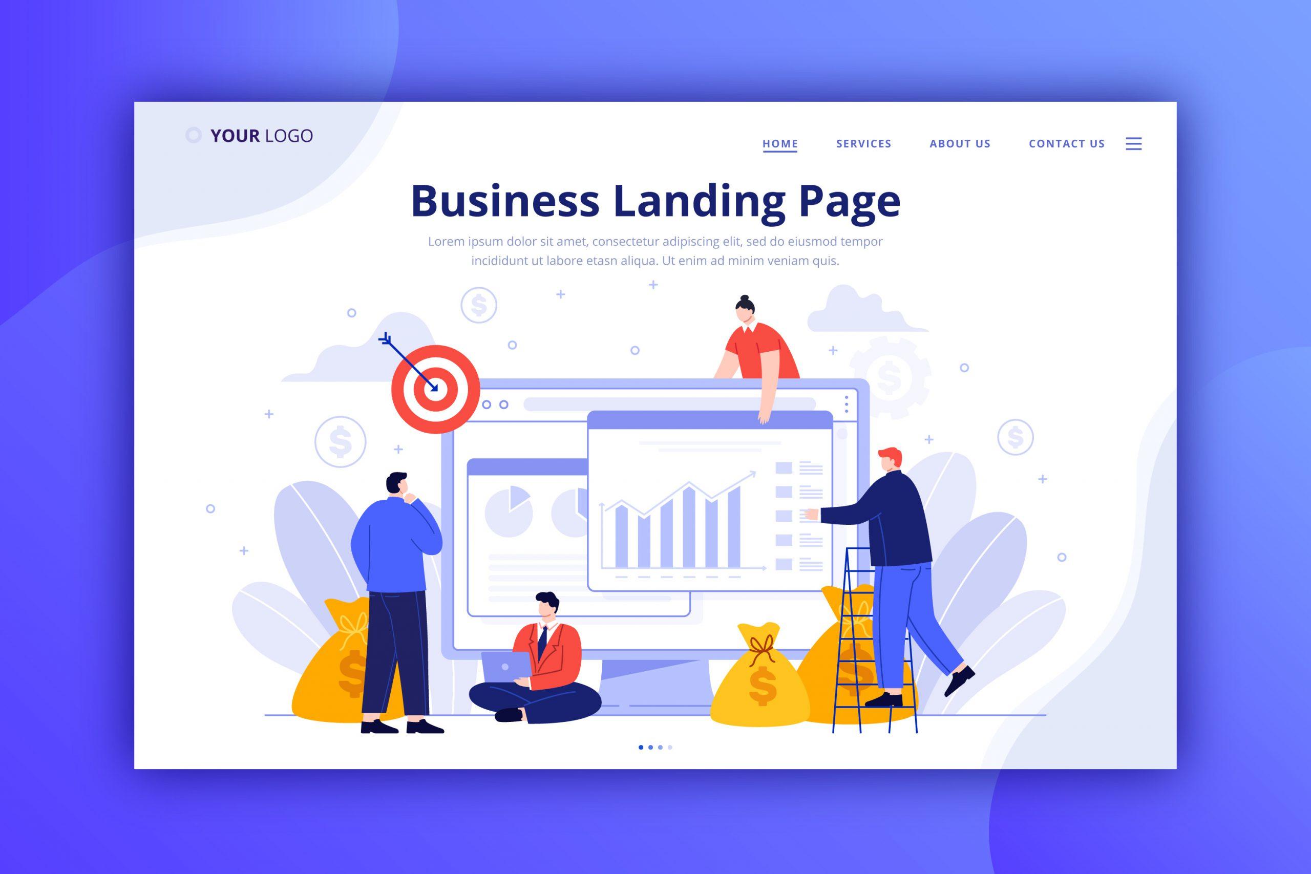ทำเว็บไซต์ landing page ทำเว็บไซต์ one page ทำเว็บไซต์หน้าเดียว